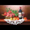 """Набор для картины стразами """"Вино с фруктами"""" """"Фрея"""""""