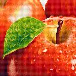 """Набор для картины стразами """"Спелое яблоко"""" """"Фрея"""""""