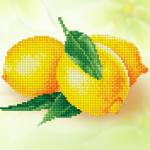 """Набор для картины стразами """"Лимоны"""" """"Фрея"""""""