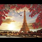 """Набор для картины стразами """"О, Париж!"""" """"Фрея"""""""