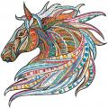 """Набор для картины стразами """"Лошадь. Этника"""" """"Фрея"""""""