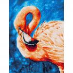 """Набор для картины стразами """"Фламинго"""" """"Фрея"""""""
