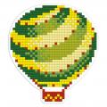 """Набор для картины стразами Магнит """"Воздушный шар"""" """"Фрея"""""""