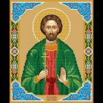 """Набор для картины стразами """"Икона Святого великомученика Иоанна Нового Сочавского"""" """"Фрея"""""""