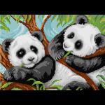 """Набор для картины стразами """"Две панды"""" """"Фрея"""""""