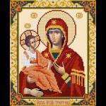 """Набор для картины стразами """"Икона Божией Матери Троеручица"""" """"Фрея"""""""