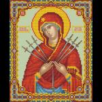 """Набор для картины стразами """"Икона Божией Матери Умягчение злых сердец"""" """"Фрея"""""""