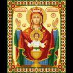 """Набор для картины стразами """"Икона Божией Матери Неупиваемая Чаша"""" """"Фрея"""""""