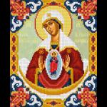 """Набор для картины стразами """"Икона Божией Матери Помощница в родах"""" """"Фрея"""""""