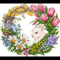"""Набор для картины стразами """"Цветущая весна"""" """"Фрея"""""""