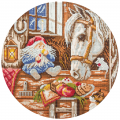 """Набор для картины стразами """"Домовой - покровитель домашних животных"""" """"Фрея"""""""