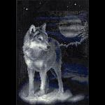 """Набор для картины стразами """"Волк"""" """"Фрея"""""""