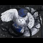 """Набор для картины стразами """"Летящая сова"""" """"Фрея"""""""