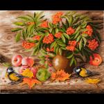 """Набор для картины стразами """"Осенний натюрморт"""" """"Фрея"""""""