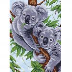 """Набор для картины стразами """"Две коалы"""" """"Фрея"""""""
