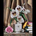 """Набор для раскрашивания по дереву """"Элегантные орхидеи"""" 50х40см """"Фрея"""""""