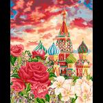 """Набор для раскрашивания по дереву """"Покровский собор"""" 50х40см """"Фрея"""""""