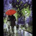 """Набор для раскрашивания по дереву """"Под красным зонтом"""" 50х40см """"Фрея"""""""