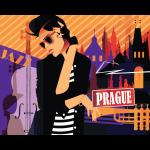 """Набор для раскрашивания """"Прага. Ночная жизнь"""" 50х40см """"Фрея"""""""