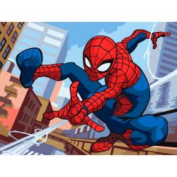 "Набор для раскрашивания ""Spider-Man"" 30х40см ""Фрея"""