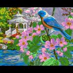 "Набор для раскрашивания ""Райская птица"" 50х40см ""Фрея"""