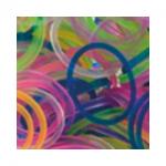 """Резинки для плетения ассорти прозрачное 600 шт. RLB-01 """"Hobbius"""""""
