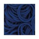 """Резинки для плетения синие матовые 600 шт. RLB-01 """"Hobbius"""""""