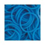 """Резинки для плетения голубые матовые 600 шт. RLB-01 """"Hobbius"""""""