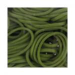 """Резинки для плетения темно-зеленые матовые 600 шт. RLB-01 """"Hobbius"""""""