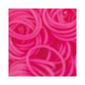 """Резинки для плетения светло-розовые матовые 600 шт. RLB-01 """"Hobbius"""""""