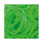 """Резинки для плетения светло-зеленые матовые 600 шт. RLB-01 """"Hobbius"""""""