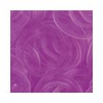 """Резинки для плетения фиолетовые прозрачные 600 шт. RLB-01 """"Hobbius"""""""