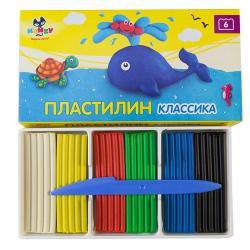 """Пластилин """"Классика"""" 6цв. """"KANZY"""""""
