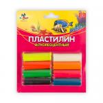 "Пластилин флуоресцентный 8цв. ""KANZY"""