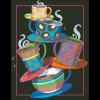 """Набор для картины стразами """"Кофе, чай!"""" """"Паутинка"""""""