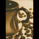 """Набор для картины стразами """"Чашечка кофе"""" """"Паутинка"""""""