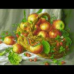 """Набор для картины стразами """"Яблочки"""" """"Паутинка"""""""