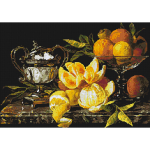 """Набор для картины стразами """"Натюрморт с апельсинами"""" """"Паутинка"""""""