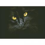 """Набор для картины стразами """"Черная кошка"""" """"Паутинка"""""""
