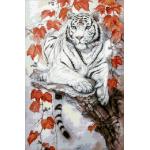 """Набор для картины стразами """"Восточный тигр"""" """"Паутинка"""""""