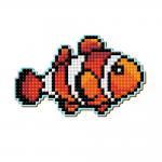 """Набор для картины стразами Магнит """"Рыбка-клоун"""" """"Pixel Boom"""""""