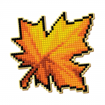 """Набор для картины стразами Магнит """"Кленовый лист"""" """"Pixel Boom"""""""