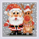 """Набор для картины стразами """"Санта-Клаус"""" """"Риолис"""""""
