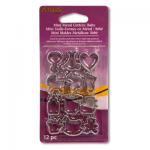 "Набор мини-форм для глины ""Дети"" Mini Metal Cutters ""Sculpey"" (США)"