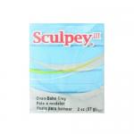 """Полимерная глина Sculpey III цв. светло-голубой 57гр """"Scupley"""" (США)"""