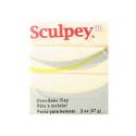 """Полимерная глина Sculpey III цв. светящийся в темноте 57гр """"Scupley"""" (США)"""