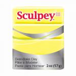 """Полимерная глина Sculpey III цв. лимонно-жёлтый 57гр """"Sculpey"""" (США)"""
