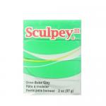 """Полимерная глина Sculpey III цв. изумруд 57гр """"Sculpey"""" (США)"""