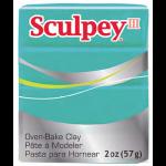 """Полимерная глина Sculpey III цв. жемчужно-зелёный 57гр """"Sculpey"""" (США)"""