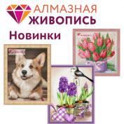 """Новинки """"Алмазная живопись"""""""